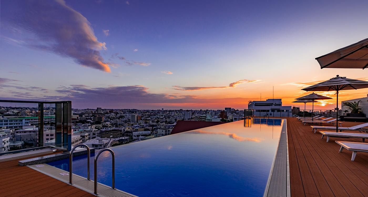 公式】ノボテル沖縄那覇   那覇唯一のインフィニティプールがあるホテル